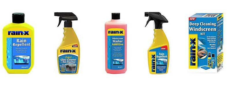 Rain-X Rain Repellent Products