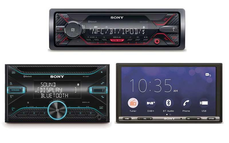 Sony Car Stereos: Our Favourite Products