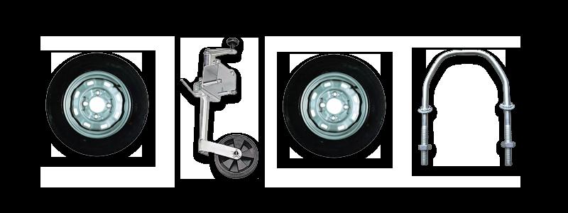 ERDÉ Trailer Wheels