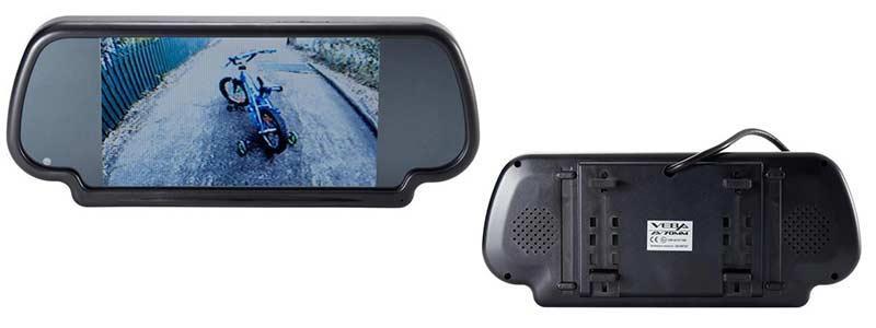 EchoMaster 7''Clip-On Mirror Monitor