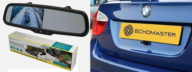 EchoMaster Mirror & Reversing Camera Kit