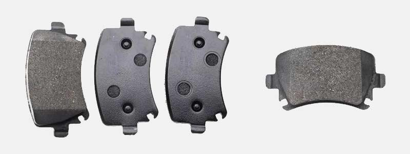 Eicher Premium Brake Pad: Rear