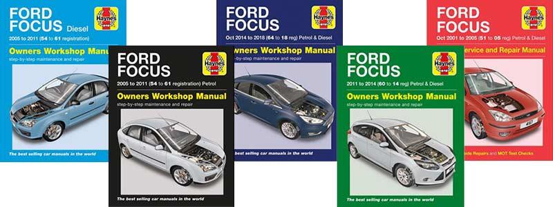 Haynes Manual: Ford Focus
