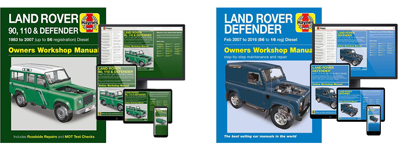 Haynes Manual: Land Rover Defender