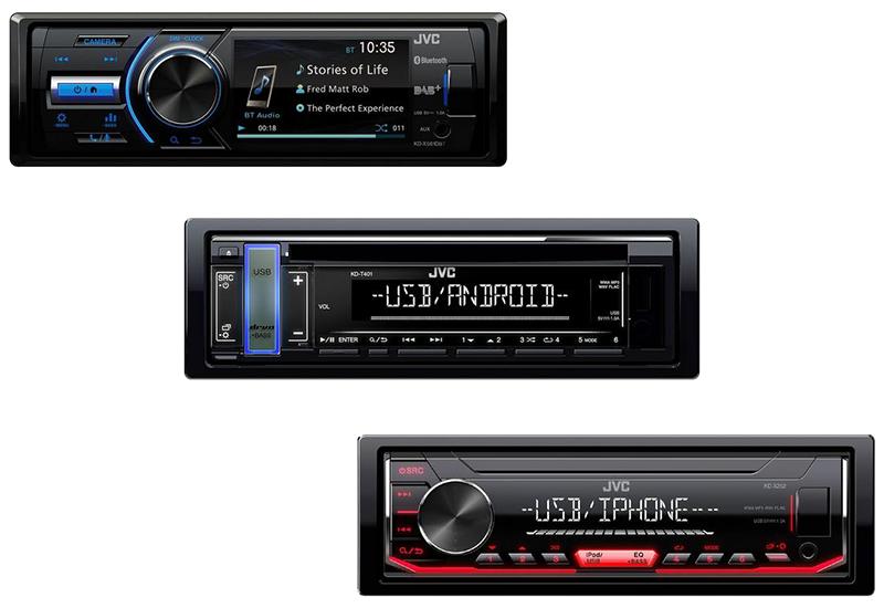 JVC Car DAB Radios
