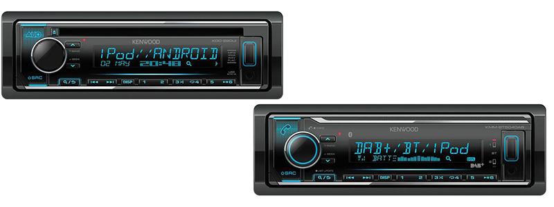 DAB Kenwood Car Radios