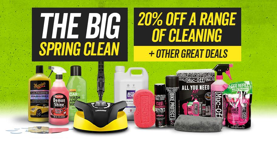 The Big Spring Clean - 20% off a range of cleaning