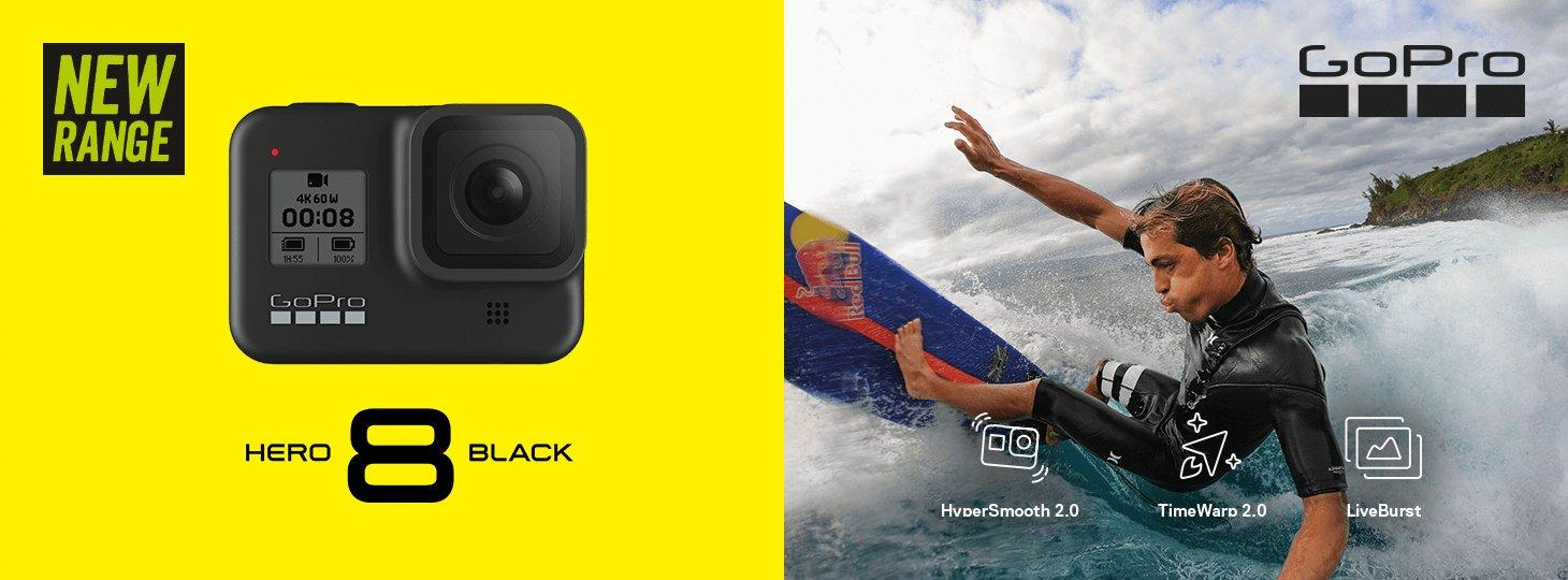 The new GoPro 8 at Halfords