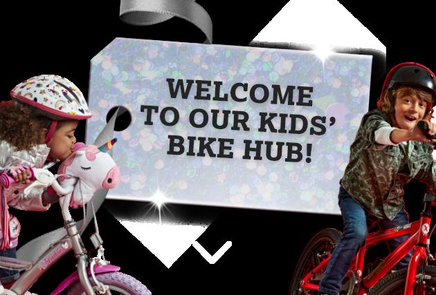 Welcome to our kids bike hub