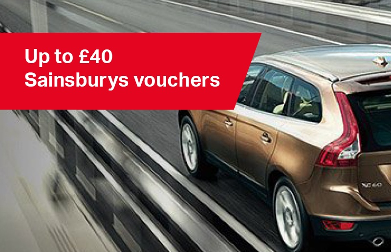 Up to £40 Sainsburys vouchers