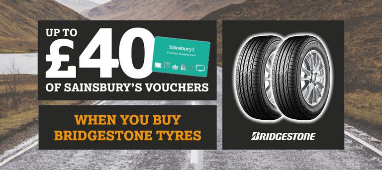 Image for Bridgestone Sainsburys Promotion article