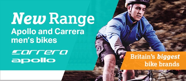 men's cycling apollo and carerra