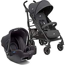 image of Joie Brisk LX Travel System Bundle