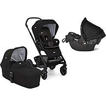 image of Joie Chrome DLX Stroller with Carrycot and Gemm Travel System Bundle