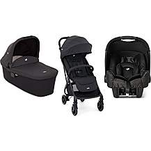 image of Joie Gemm Group 0 Car Seat with Tourist Stroller and Ramble Cosy Cot Travel System Bundle