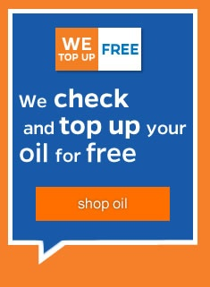 We can top up your oil - Just Click