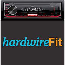 image of JVC KD-X252 Car Stereo Fully Fitted Bundle