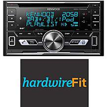 image of Kenwood DPX-7100DAB Fully Fitted Bundle