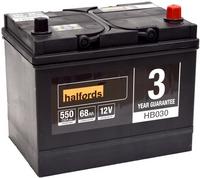 Halfords 12v Lead Acid Battery HB030