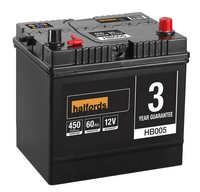 Halfords Lead Acid Battery HB005