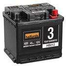 Halfords Lead Acid Battery HB012