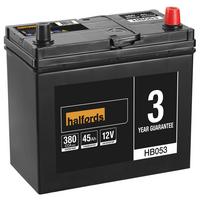 Halfords Lead Acid Battery HB053