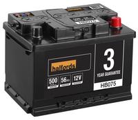 Halfords Lead Acid Battery HB075