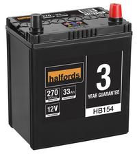 Halfords Lead Acid Battery HB154
