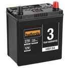Halfords Lead Acid Battery HB154