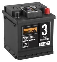 Halfords Lead Acid Battery HB202