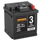 Halfords Lead Acid Battery HB202
