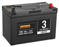 Halfords Lead Acid Battery HB335