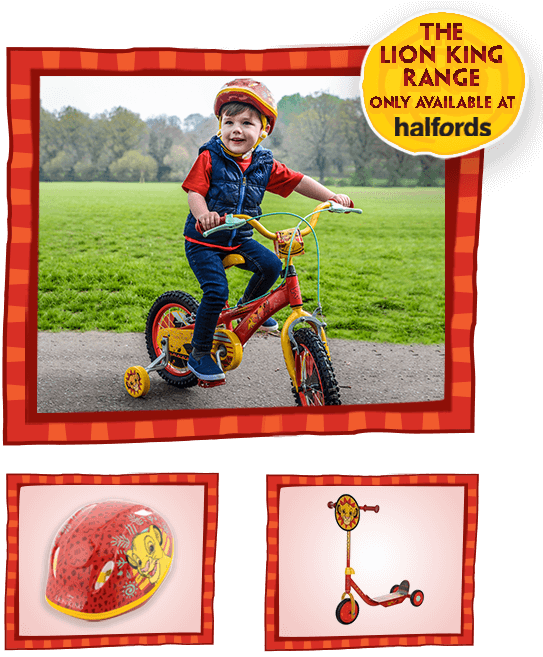 Lion king bike