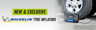 Michelin tyre inflators