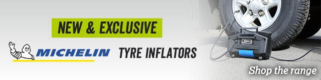 Michelin tyre inflators