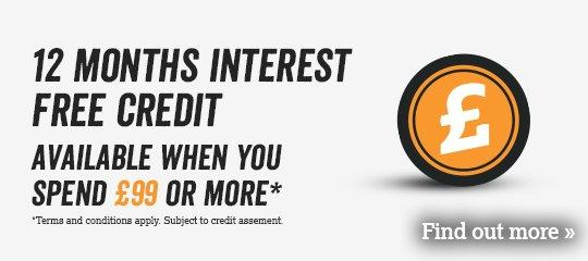 12 Months Interest Free Credit