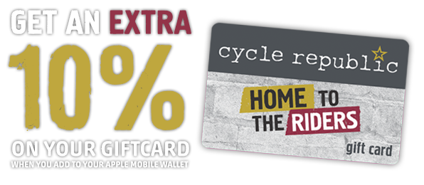 Cycle Republic Apple Mobile Wallet Gift Cards