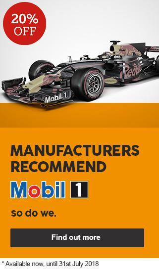 20 percent off Mobil service upgrades