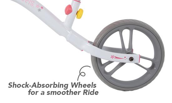 Shock-Absorbing Wheels