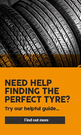 Need help finding the perfect tyre? - Try our helpful guide...
