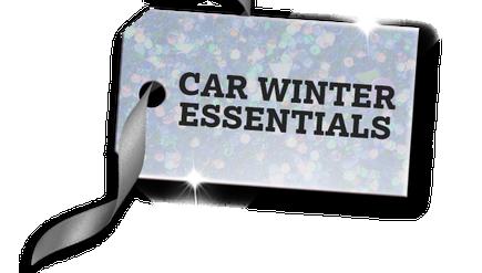You want car winter essentials