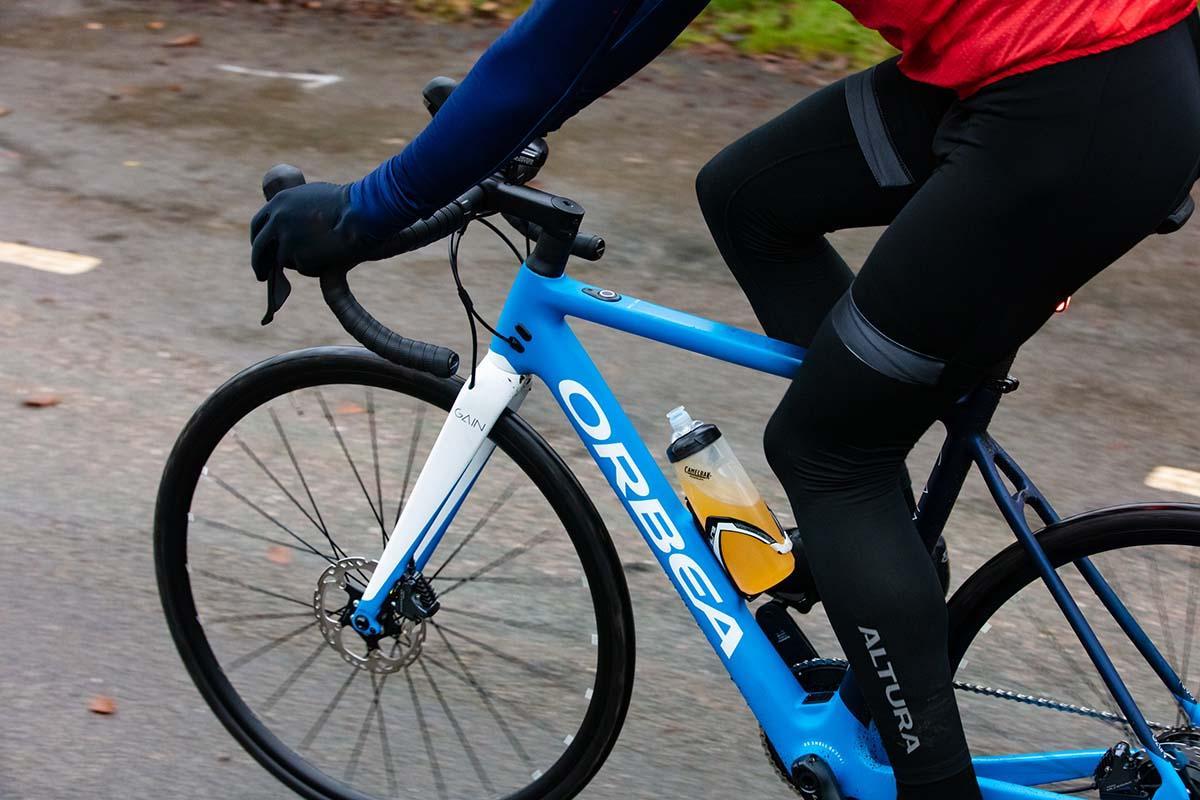 Orbea Gain e-bike with disc brakes