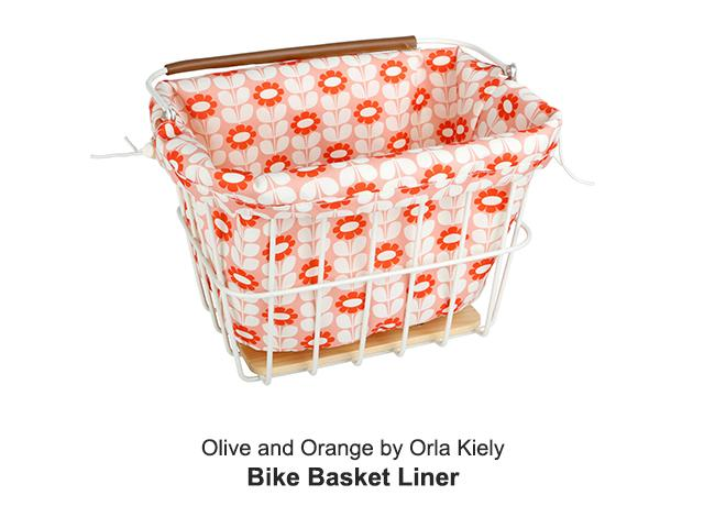Orla Kiely Bike Basket Liner