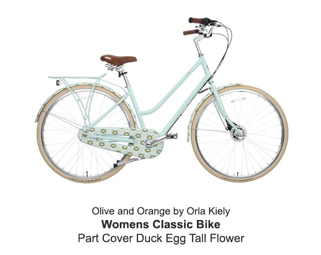 Womens Classic Bike By Orla Kiely