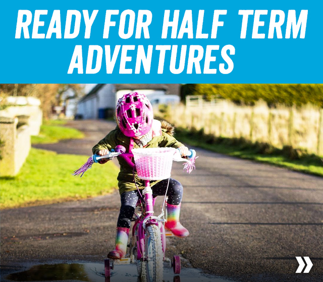 Get ready for half term