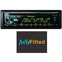 image of Pioneer DEH-X7800DAB Car Stereo Fully Fitted Bundle