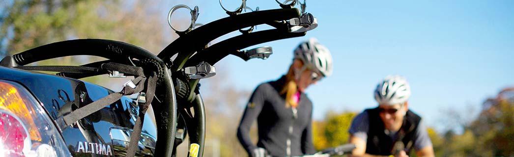 Rear mounted bike racks