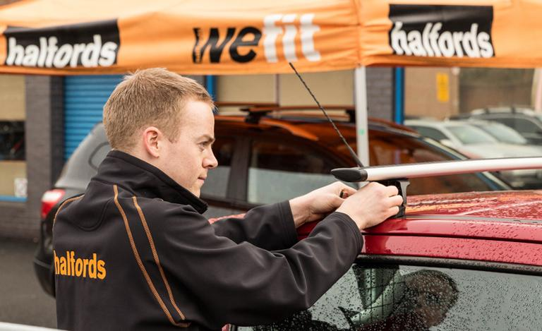 Image for Halfords Roof Bar Fitting Service article