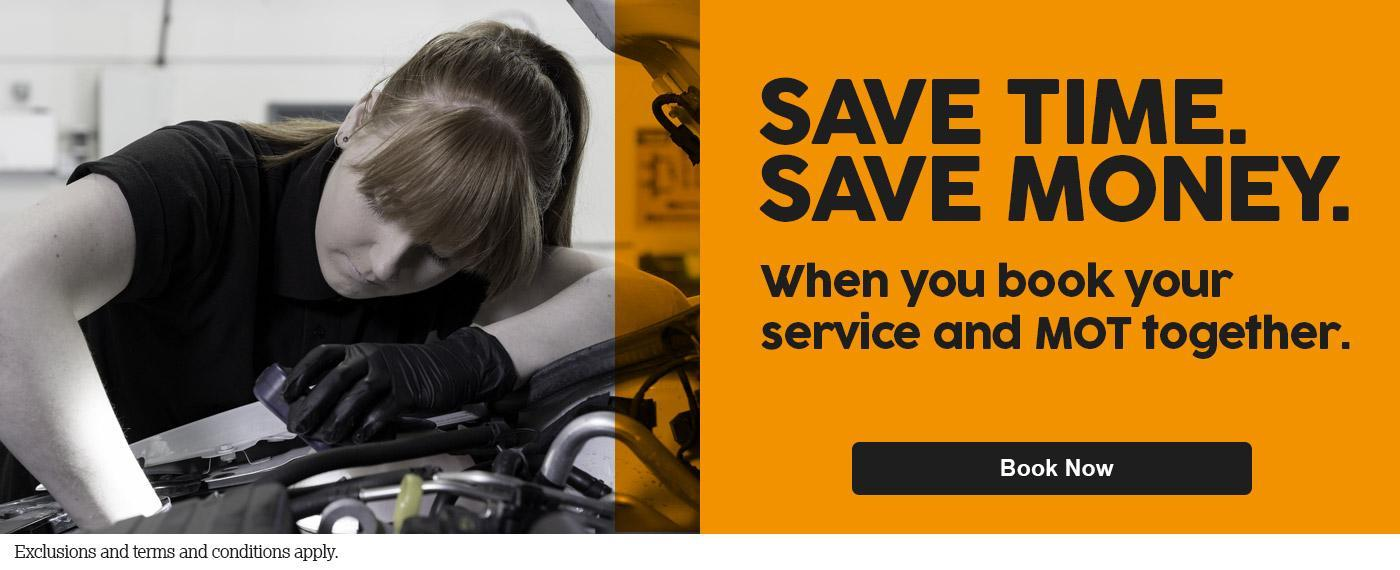 MOT - Save Time. Save Money.