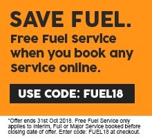 Free fuel service with any service